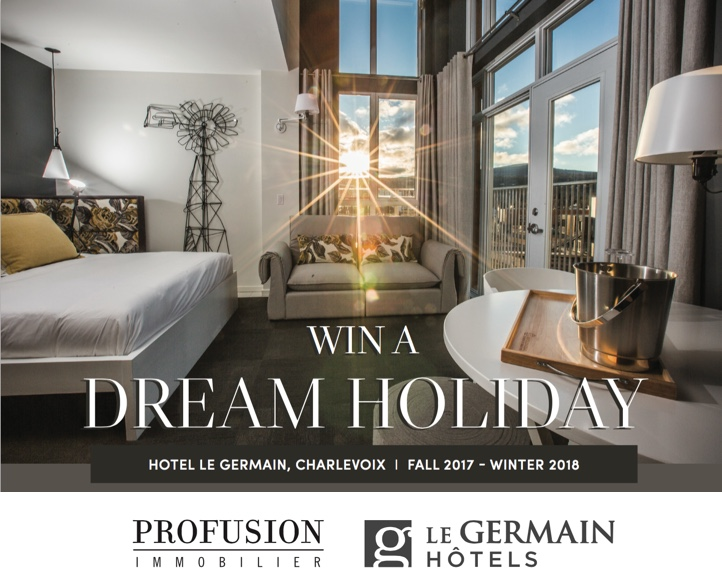 win a dream holiday with profusion immobilier christina miller. Black Bedroom Furniture Sets. Home Design Ideas
